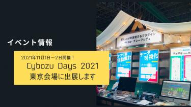 グレープシティがCybozuDays2021に出展します